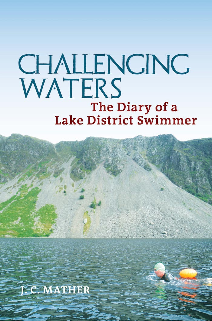 Challenging Waters: The Diary of a Lake District Swimmer book front cover